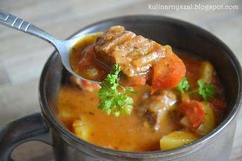 Kulinarny Szał: Kociołek węgierski - zupa gulaszowa