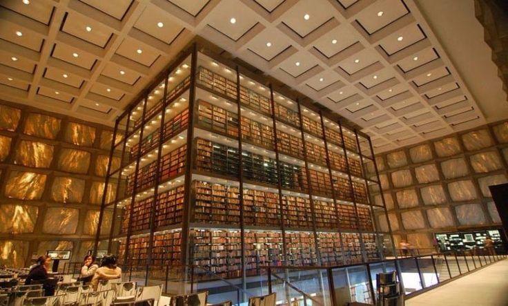 Biblioteca Beinecke de Libros Raros y Manuscritos - http://www.actualidadliteratura.com/biblioteca-beinecke-de-libros-raros/