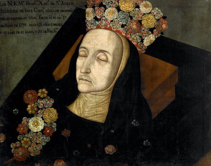 Francisca Xavier de San Joseph (Clarisa) | Colección de Arte del Banco de la República