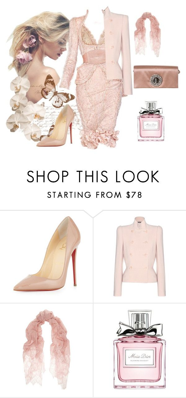 """""""Untitled #127"""" by jovana-p-com ❤ liked on Polyvore featuring Alexander McQueen, Christian Louboutin, Valentino, Christian Dior, Prada, women's clothing, women's fashion, women, female and woman"""