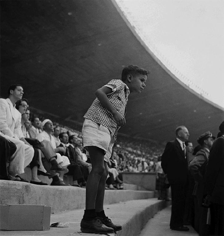 photo de José Medeiros, Copa do Mundo de 1950, Estádio do Maracanã, Rio de Janeiro