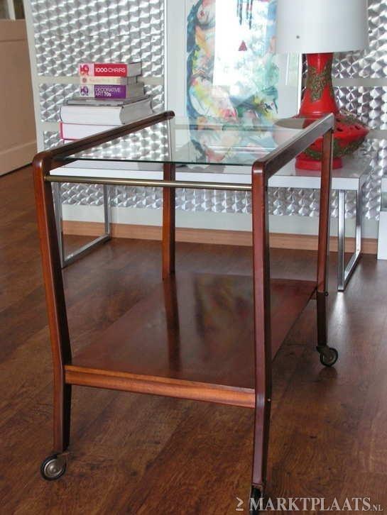 Jaren 50/60 vintage theetafel/Tea table 1950/1960   Bijzet & theetafels/ side & tea tables   RePOP APELDOORN