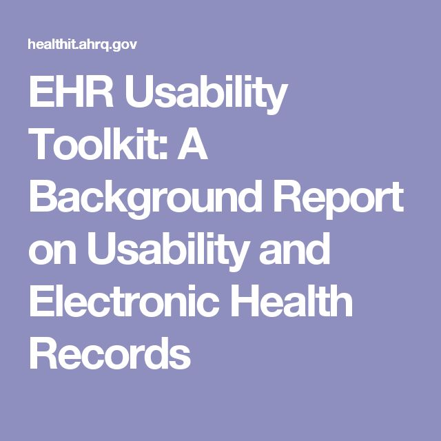 Function-specific Design Principles for the EHR EHR Problem - sample background report