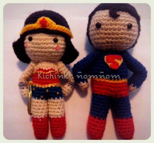 Amigurumi Wonder Woman : 17 Best ideas about Superman Crochet on Pinterest Pixel ...