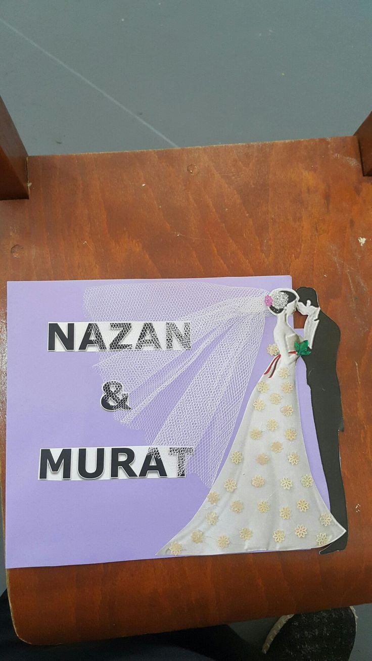 Davetiye # gelin # evlenme#