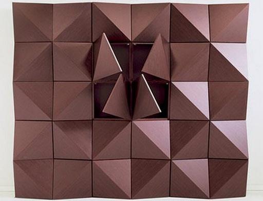 Reflex-Angelo, Origami Wall Unit  #Obakki #Obakki #Art #Design #Inspiration #Creative #Creativity #Fashion #Couture #ObakkiDesigns #Modern #Chic