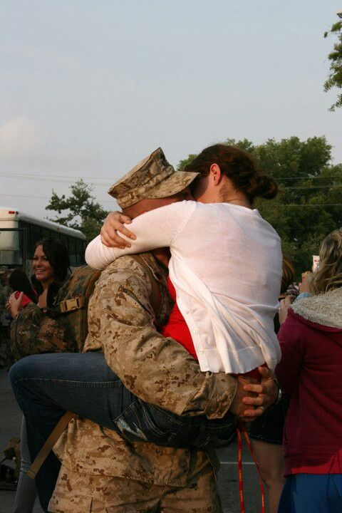 Marine homecoming - this is all I see for JL.