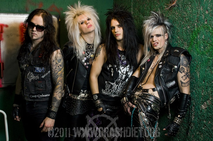 Crashdiet. The entire band, please and thank you.
