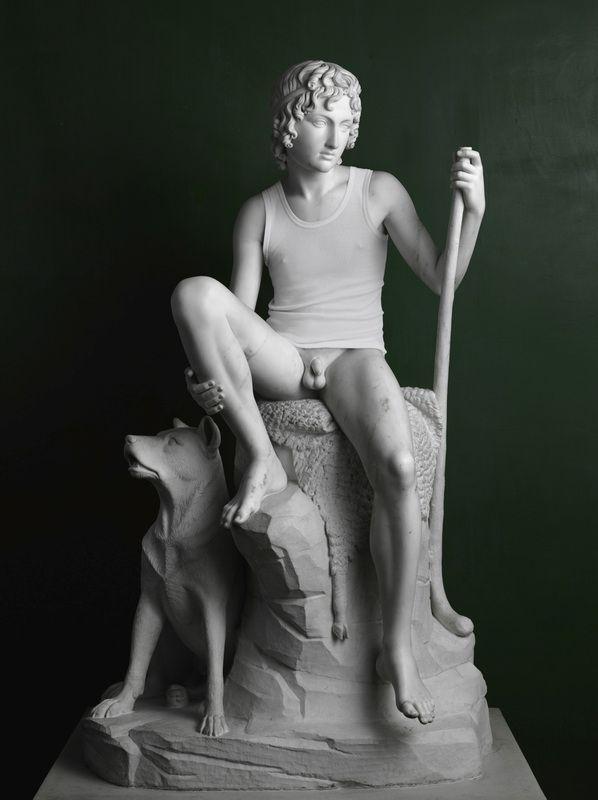 Elmgreen & Dragset, Shepherd Boy (Tank Top), 2009 © Courtesy Galleri Nocolai Wallner / VBK Vienna, 2012