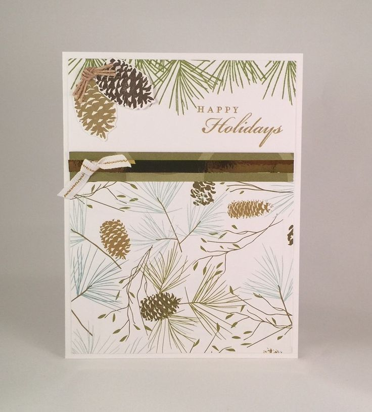 Here is a card with Close to My Heart's Oh Deer! paper packet paired with CTMH's Perfectly Pine stamp set. I just love this card. I think this will be one that I make a bunch of for my special family and friends. I better stock up on that paper! Supplies: Paper: CTMHOh Deer! and...