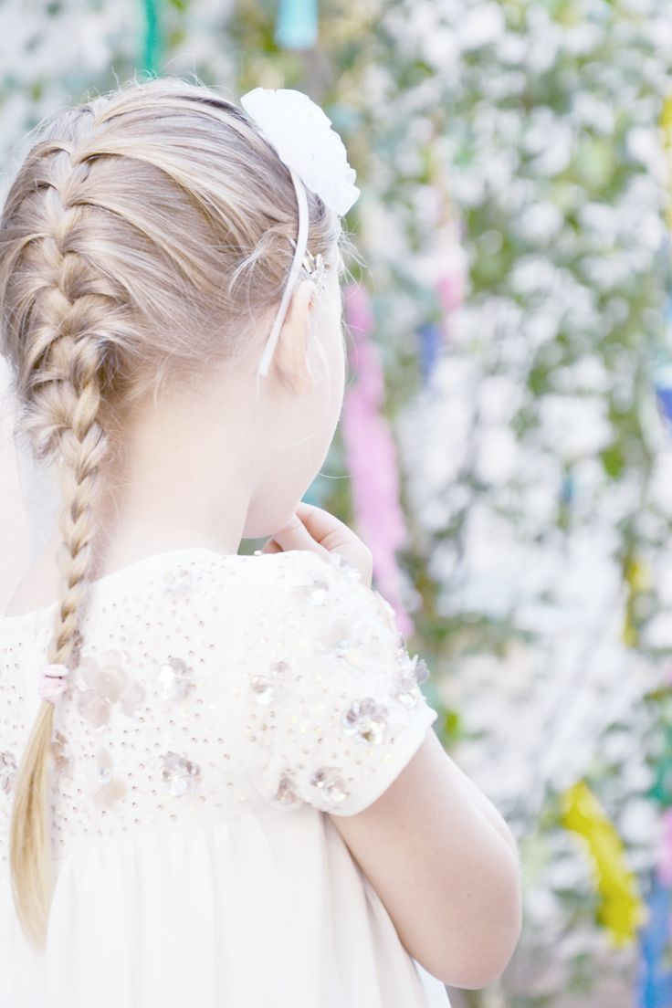 Child • Mood • White • Dress