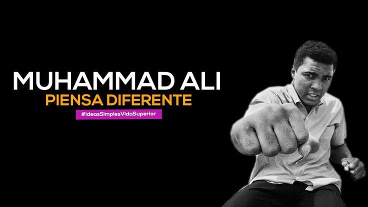 Muhammad ali, piensa diferente