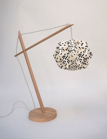 Lampe Origami  Petits Triangles par CCfaitdessiennes-lecent9