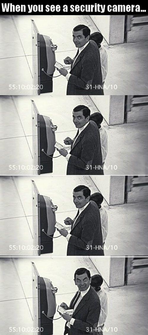 Security Cameras.