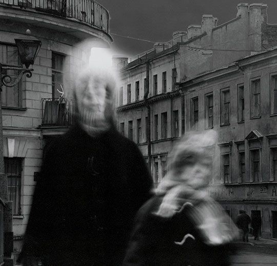 """Imagine living in a bleak world where it feels like time has stopped. In his eerie series City of Shadows, Russian photographer Alexey Titarenko (a member of the famous """"Zerkalo"""" photoclub) documen..."""
