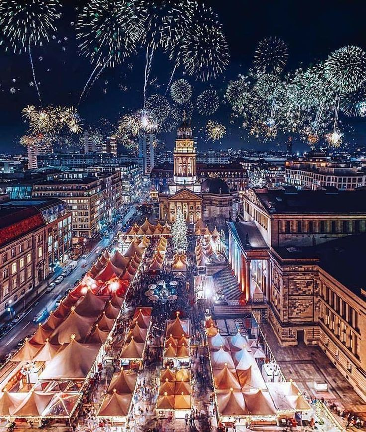 Spectacular Berlin Germany at Christmas time