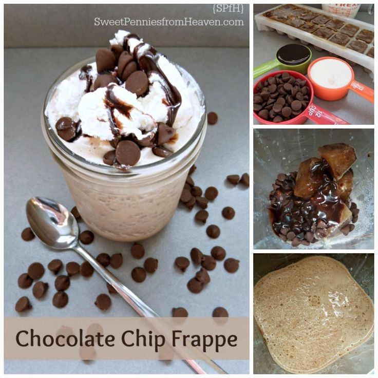 Homemade Chocolate Chip Frappe Recipe
