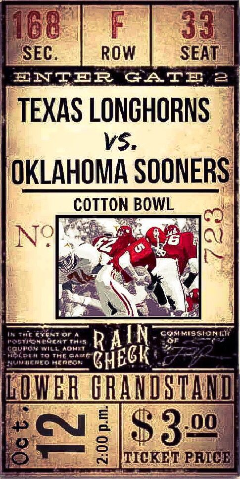 Cotton Bowl Ticket