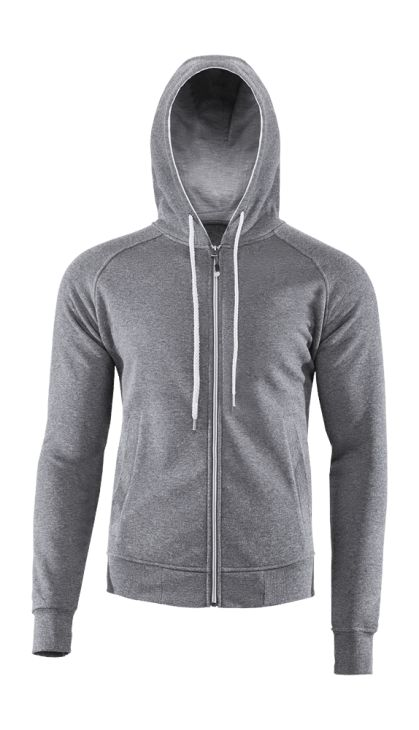 Cut and the fabric of this sweatshirt provide long lasting comfort while wearing. Ribs ensure perfect fit and integrated hood brings sporty look.   Benefits: -fabric is characterized by high durability and ease of maintenance -ribs on sleeves and bottom help to keep the warm -available in different colors -two, side pockets
