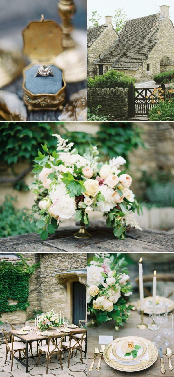 English Garden Wedding Inspiration in Michigan