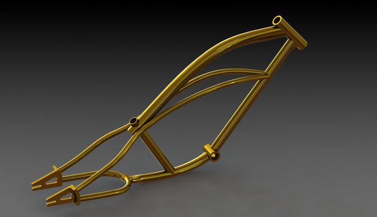 Frame render - Peddle power electric bikes