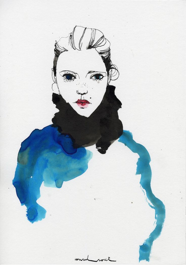 Illustration by Conrad Roset - J. JS Lee @ London Womenswear A/W 2014 - SHOWstudio - The Home of Fashion Film