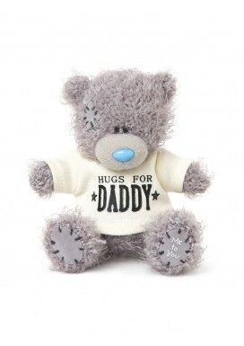 """Me To You 4"""" Hugs For Daddy Jumper Soft Toy"""