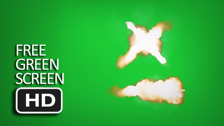 Free Green Screen - Muzzle Flare Automatic Fire