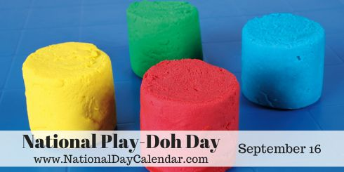 National Play-Doh Day - September 16