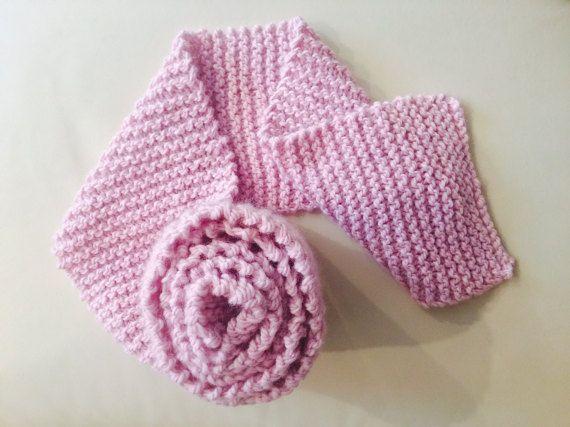 Wool knit scarf, chunky knit scarf, soft scarf, handmade knit scarf READY TO SHIP