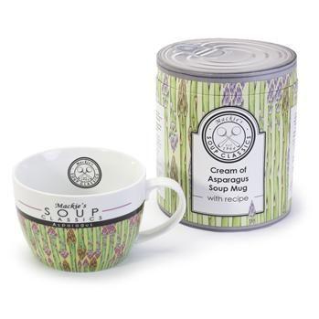 Bia Soup Classics 'Cream Of Asparagus' Porcelain Soup Mug