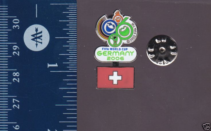 SWITZERLAND 2006 FIFA WORLD CUP GERMANY Soccer FLAG PIN  | eBay