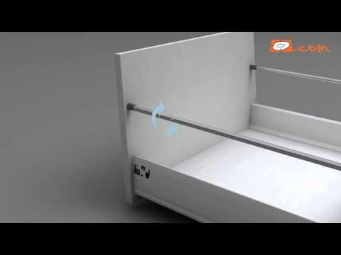Montar guías, cajones y gaveteros de cocina (Bricocrack) - YouTube