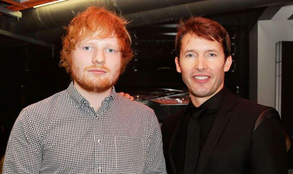 JAMES BLUNT revealed Ed Sheeran is collaborating with him on his new album.