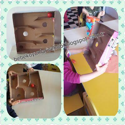 Elifce Bebek Oyunları ve Hobi: Karton kutudan oyuncak yapımı