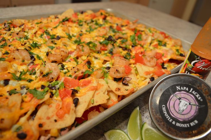 #Tailgating ? Try #NapaJacks #Chipotle #BlackBean & #Shrimp #Nachos ! Oh yeah...  This show is brought to you by Wine Country Kitchens: http://WineCountryKitchens.com  * Subscribe to Cooking With Kimberly: http://cookingwithkimberly.com @CookingWithKimE #cwk