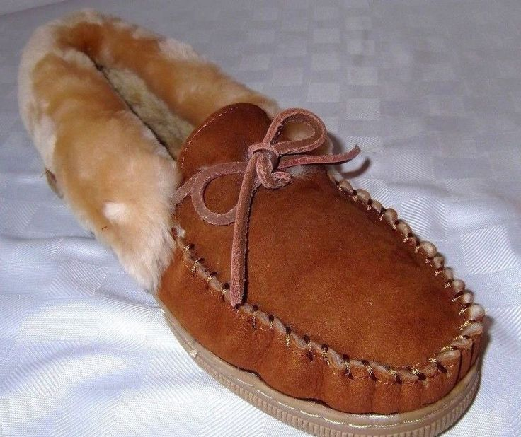 1 Pair Men's Moccasin House Slippers Shoes - Mens Size 11, 12, 13, 14, 15, 16  #muldrow #MoccasinSlippers