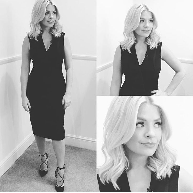 Holly Willoughby long bob