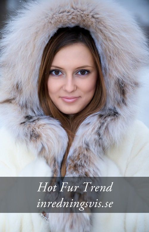 Hot Fur Trend in Home Decor http://inredningsvis.se/hot-fur-trend-inspiration/