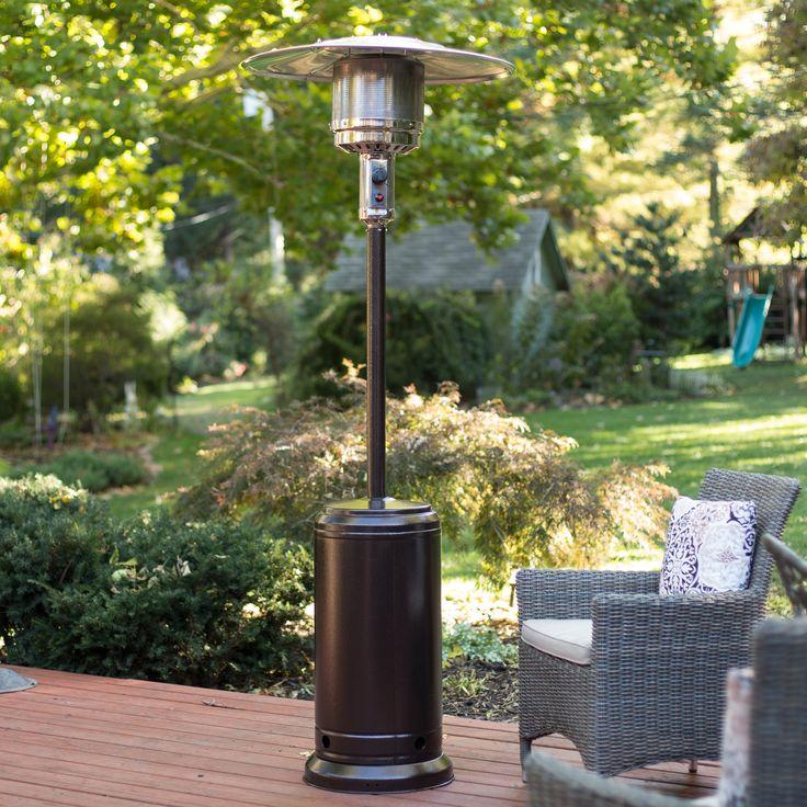 Fire Sense Hammered Bronze Patio Heater   Smart Spaces Heat Up With The Fire  Sense Hammered