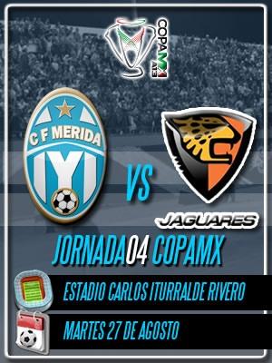 Jornada 04 Copa MX recibiendo a los Jaguares de Chiapas en el Iturralde