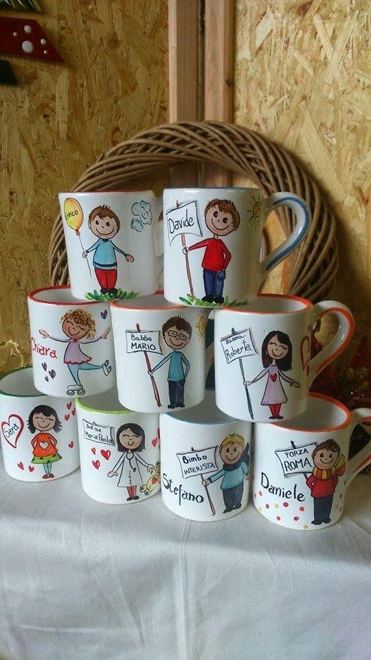 Tazze Mug con personaggi