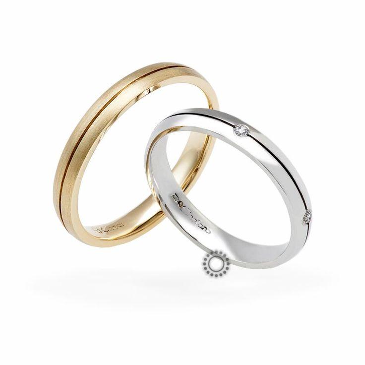 Βέρες γάμου Facadoro 8Α/8Γ - Ένα λιτό και μοντέρνο σχέδιο από ανατομικές βέρες FaCadoro   ΤΣΑΛΔΑΡΗΣ Κόσμημα-Ρολόι στο Χαλάνδρι #βέρες #βερες #γάμου #wedding #rings