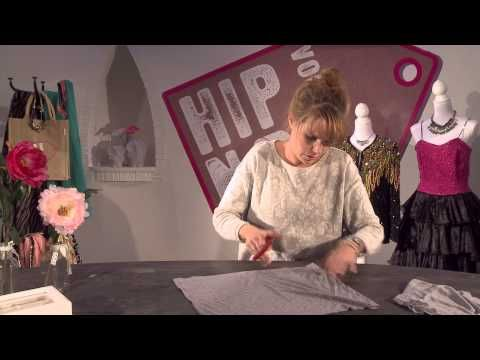 EO stage - Hip Voor Nop - Tutorial Franje sjaal - YouTube