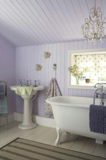 Check Out 17 Lavender Bathroom Design Ideas You Ll Love I Really Can T Think Of A Better Place To Decorate With Lavender Than Your Bathroom