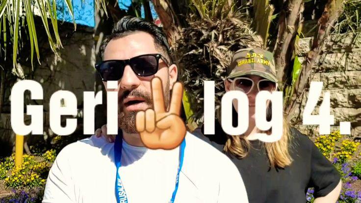 GeriVlog IZRAEL 4.Nap HOLT TENGER NEGEV SIVATAG
