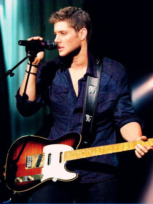 Jensen Ackles...acts, sings, plays guitar, and looks hot doing it.  Not. Even. Fair.
