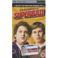 Produced by Judd Apatow and co-written by Seth Rogen--both of THE 40 YEAR OLD VIRGIN and KNOCKED UP fame--SUPERBAD is the story of two horny teenage geeks looking to lose their virginity before college. Seth (Jonah Hill) and Evan (Michael Cera) are hoping to end high school on a high note, and when one of their crushes (Emma Stone) invites them to a graduation party, the boys are ecstatic.