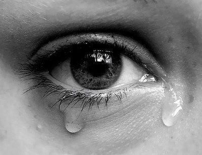 crying, sad, tears