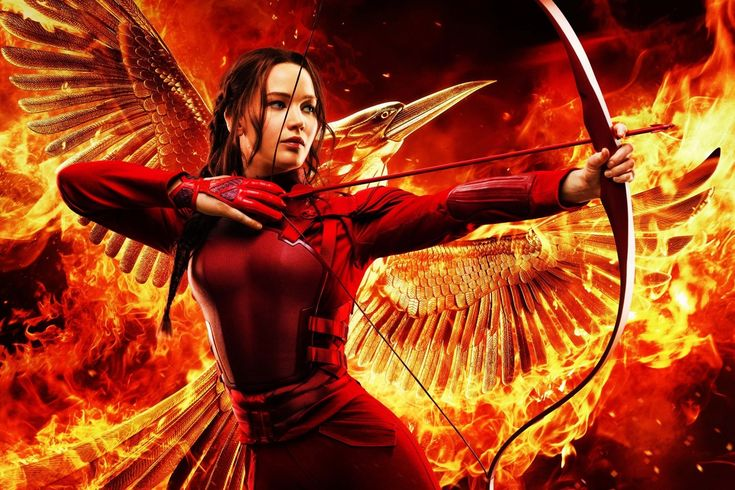 """Katniss Everdeen from """"The Hunger Games - Mockingjay Part 2"""" (2015) 